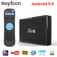 Android 9.0 Smart TV Box 4G 64G X96H H603 Quad core 5G Dual