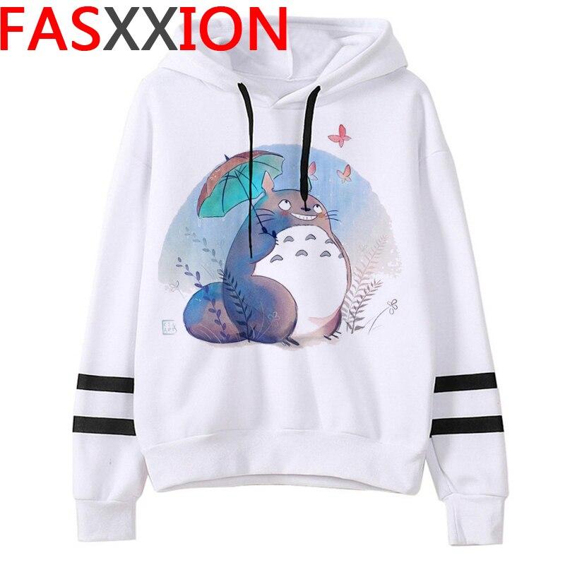 Totoro Studio Ghibli hoodies women streetwear grunge femme hoody sweatshirts hip hop streetwear 17