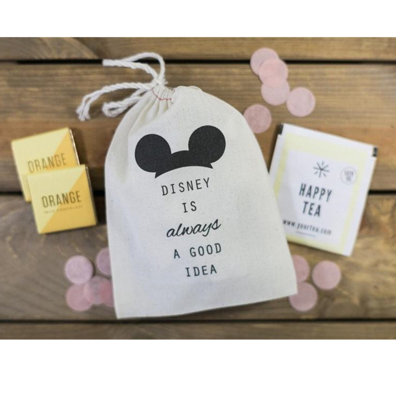 Mouse Party Favor Bag Personalized Wedding Welcome Gift Bags Is Always A Good Idea Drawstring Bag Survival Kit Hangovers Kit Bag