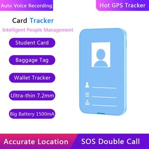 Image 5 - GPS Tracker Worker Student ID Card GSM AGPS WIFI SOS Call Voice Recorder For Kid