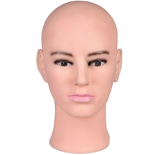 Hot Sale Male Mannequin Head Manniquin Manikin Man Training Head Stand Model Wig Glasses Hat Display With Free Clamp