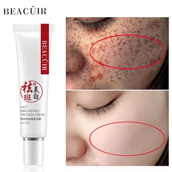 Wybielanie pieg twarzy krem z kwasem hialuronowym krem na komórki życia kolagen naprawa z plam starczych pigmentacja krem nawilżający krem na dzień tanie i dobre opinie NoEnName_Null Kobiet 25ml Chiny GZZZ YGZWBZ CRM-MB015 20160671 Face Nicotinamide Collagen Arbutin Hyaluronic acid Freckle Whitening Face Cream day cream