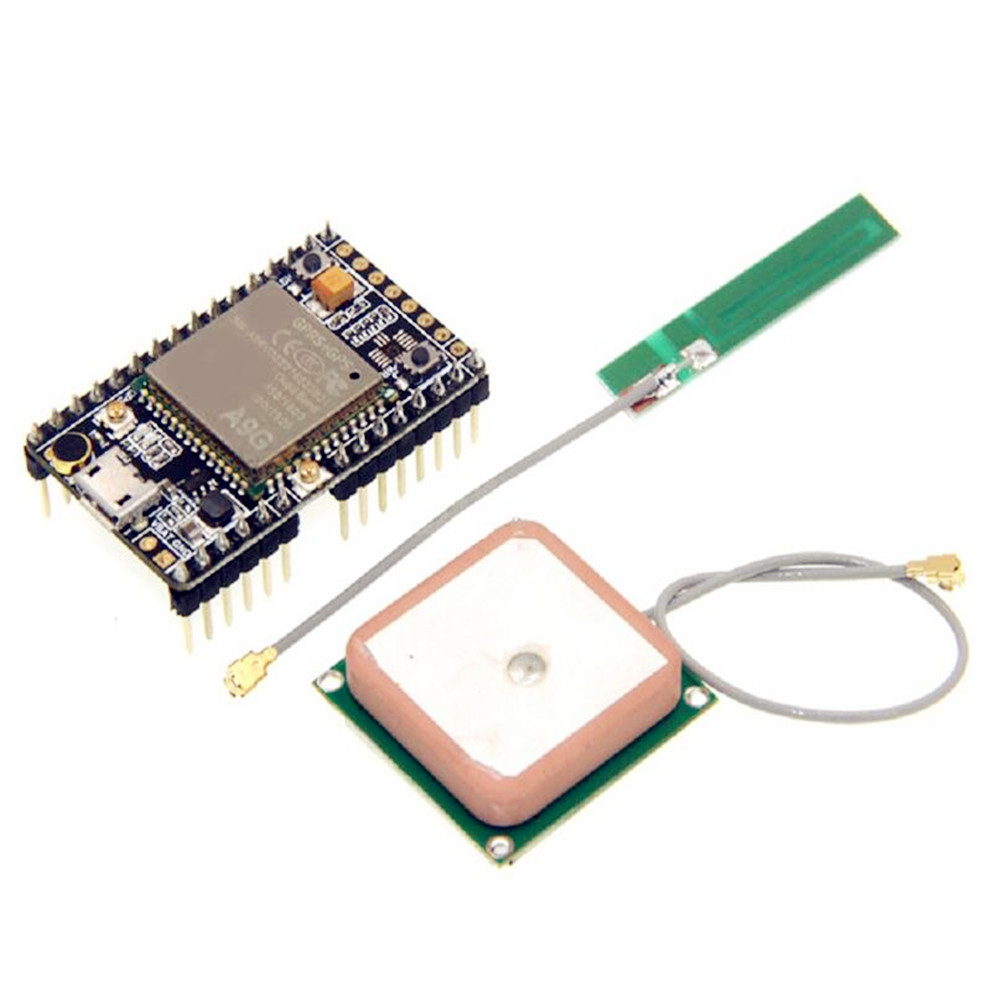 Taidacent A9 A9G Module Development Board Minimum System Wireless Data Transmission Positioning With Antenna GPRS GSM Shield