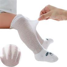 Летние тонкие носки для маленьких девочек 3 пары/компл Мультяшные