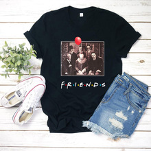 Horror Character Friends Halloween Shirt Friend Tv Show Unif