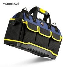 Sac à outils Portable électricien sac multifonction réparation Installation toile grand épaissir sac à outils poche de travail