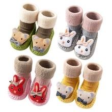 Socks Baby Children's Non-Slip Stockings Infant Kids Cotton Cartoon Fashion Cute