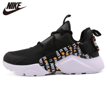 Original Nike Air Huarache City Low Premium Black And Orange Women Running Shoes