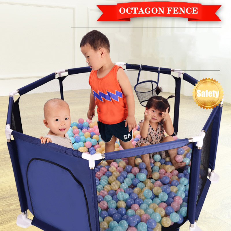 New Arrivals Baby Playpen Fencing For Children Portable Safety Fence Barriers For Ball Pool For Child Indoor Basketball Hoop
