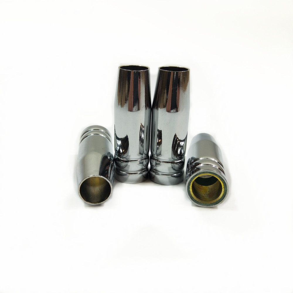 4pcs 15AK MIG Nozzle MIG Welding Torch Gas Nozzle TIP Protective Shield Cup For MIG Welding Machine