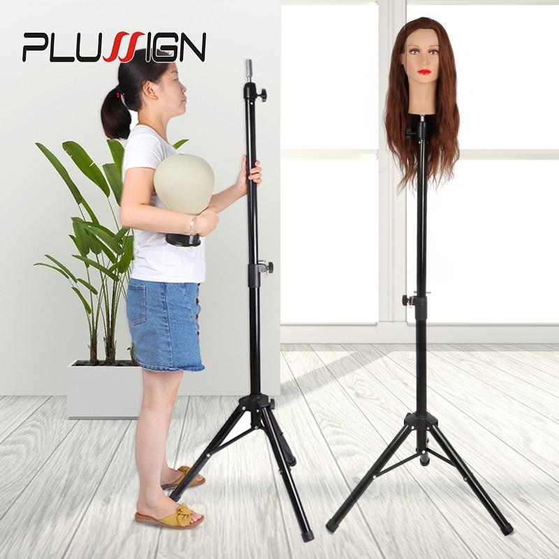 Manikin Head Tripod Hairdressing Training Head Holder Hair Stand Salon Hair Training Tool
