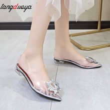 gladiator sandals women transparent shoes wedding shoes bride crystal shoes summer sandals clear heels luxury sandals