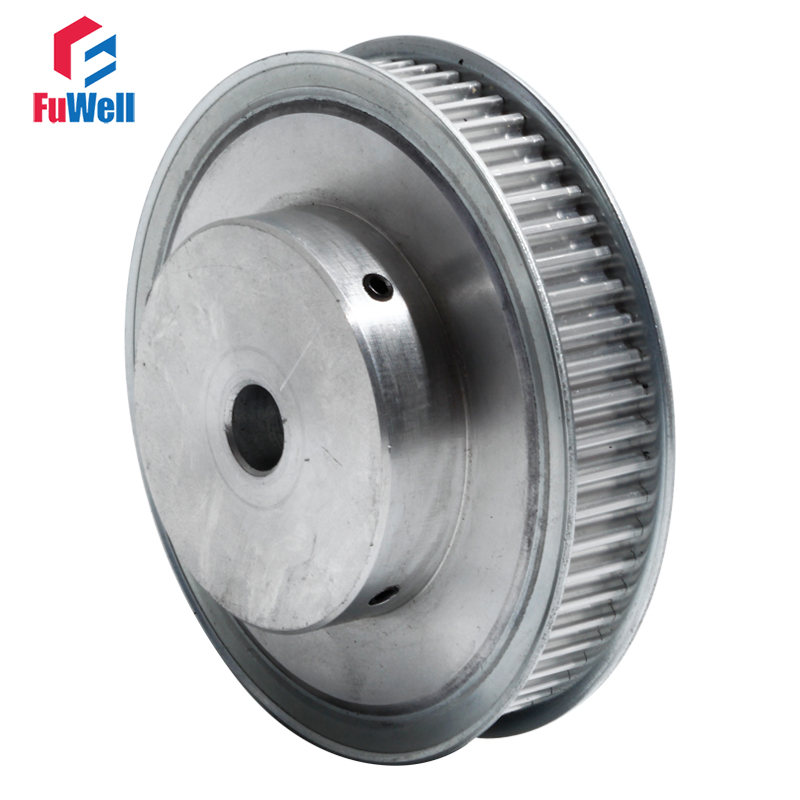 Timing Pulley HTD 5M-80T Gear Belt Pulley 16mm Belt Width 12/16/17/20/25mm Bore Aluminum Alloy 5M 80Teeth Synchronous Pulley