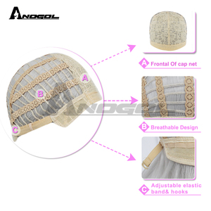 Image 5 - Anogol Tangled Princess Rapunzel Long Straight Braided Blonde Synthetic Hair Six Flowers Cosplay Costume  Wigs For Halloween