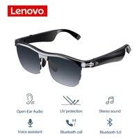 Occhiali da sole Wireless originali Lenovo MG10 Smart conduzione ossea Touch Control cuffie Audio vivavoce occhiali da guida per chiamate musicali