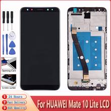 5 9 #8222 dla ekranu dotykowego HUAWEI Mate 10 Lite dla Mate 10 Lite RNE-L01 02 03 21 22 23 oryginalny wyświetlacz LCD z montażem ramy tanie tanio GIAUSA CN (pochodzenie) Rezystancyjny ekran 2560x1440 3 For HUAWEI Mate 10 Lite LCD LCD i ekran dotykowy Digitizer Test One By One Before Shipping