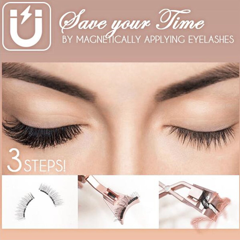 Magnetically Applying Eyelashes