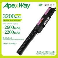 Apexway 3200 mAh Da Bateria Do Portátil para Asus X540 X540L X540LA X540LJ X540LJ X540SA X540SC X540YA A540 A540LA F540 R540S R540SA