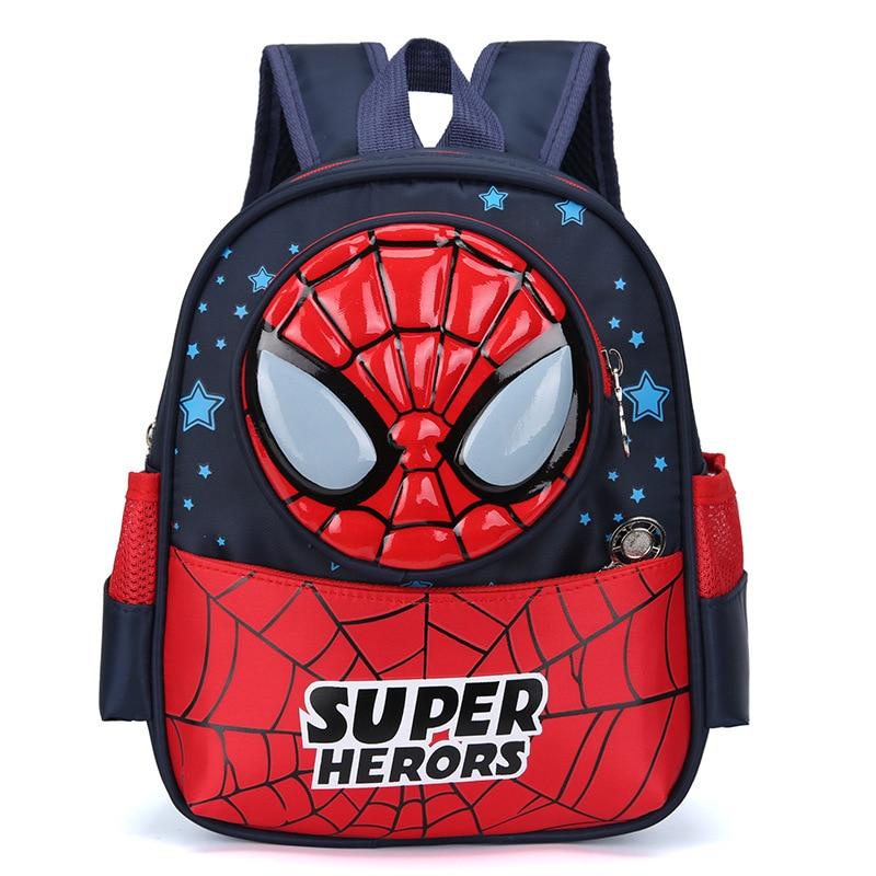 Comic Superman Batman Boy Girl Baby Children Kindergarten Nursery School Bag Bagpack Schoolbags Kids Student Backpack