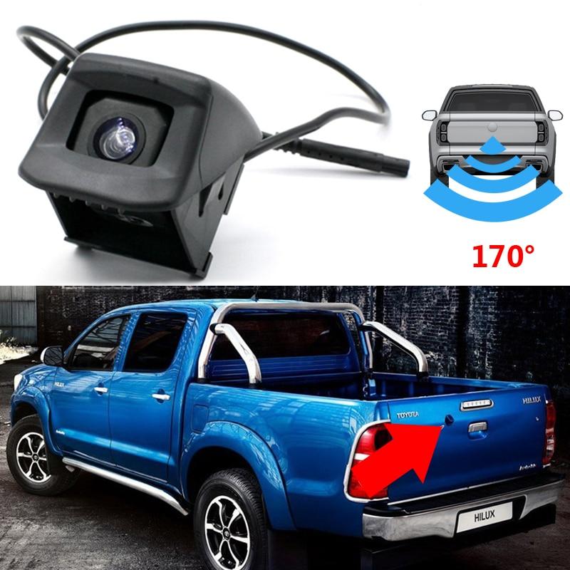 CCD HD Rear View Camera For Toyota Hilux Vigo Pickup AN10 AN20 AN30 AN120 AN130 2004~2019 Parking System