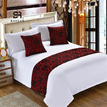 Bedspread Throw RAYUAN Queen Bedding Bed-Runner Bed-Tail-Towel Hotel King Polyester Double-Layer