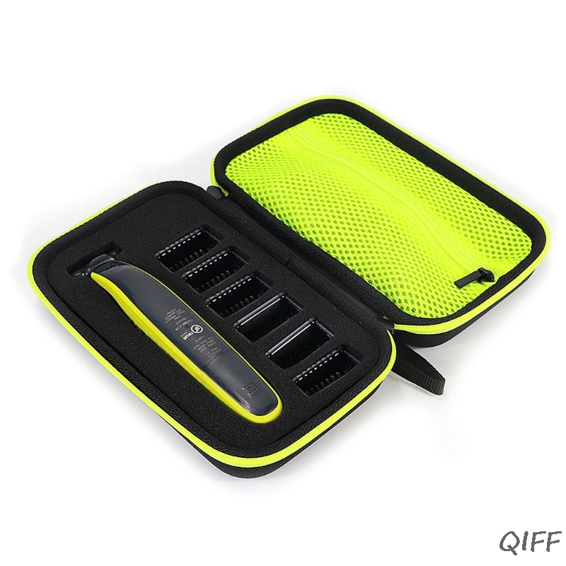 1pcs Electric Shaver Razor Box EVA Hard Case Trimmer Shaver Pouch Travel Organizer Carrying Bag For Philips Norelco  One Blade
