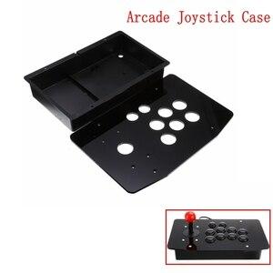 Image 1 - Acryl Panel Fall Ersatz DIY Klar Schwarz Arcade Joystick Griff Arcade Spiel Kit Robust Bau Einfach zu Installieren