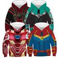 Große Größe 3D Muster Jungen Sweatshirt Herbst Mit Kapuze Wolf Lion Einhorn Hoodies Für Jungen und Mädchen Kinder Mantel Kinder Kleidung