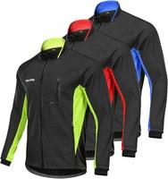 Men's windbreaker winter Cycling Riding Jacket Mountain Bike waterproof Riding fleece Jacket Winter reflective rain jacket coat
