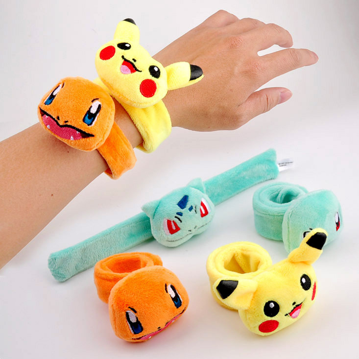 Stuffed Pikachu Plush Toys Kawaii Cute Soft And Comfortable Animal Cartoon Lucky Doll Mini Hand Ruler Toys Kids Gift