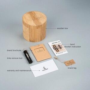 Image 5 - BOBO BIRD montre bracelet en bois plusieurs zones horaires, accessoire de luxe en bois, accessoire de mode, livraison directe