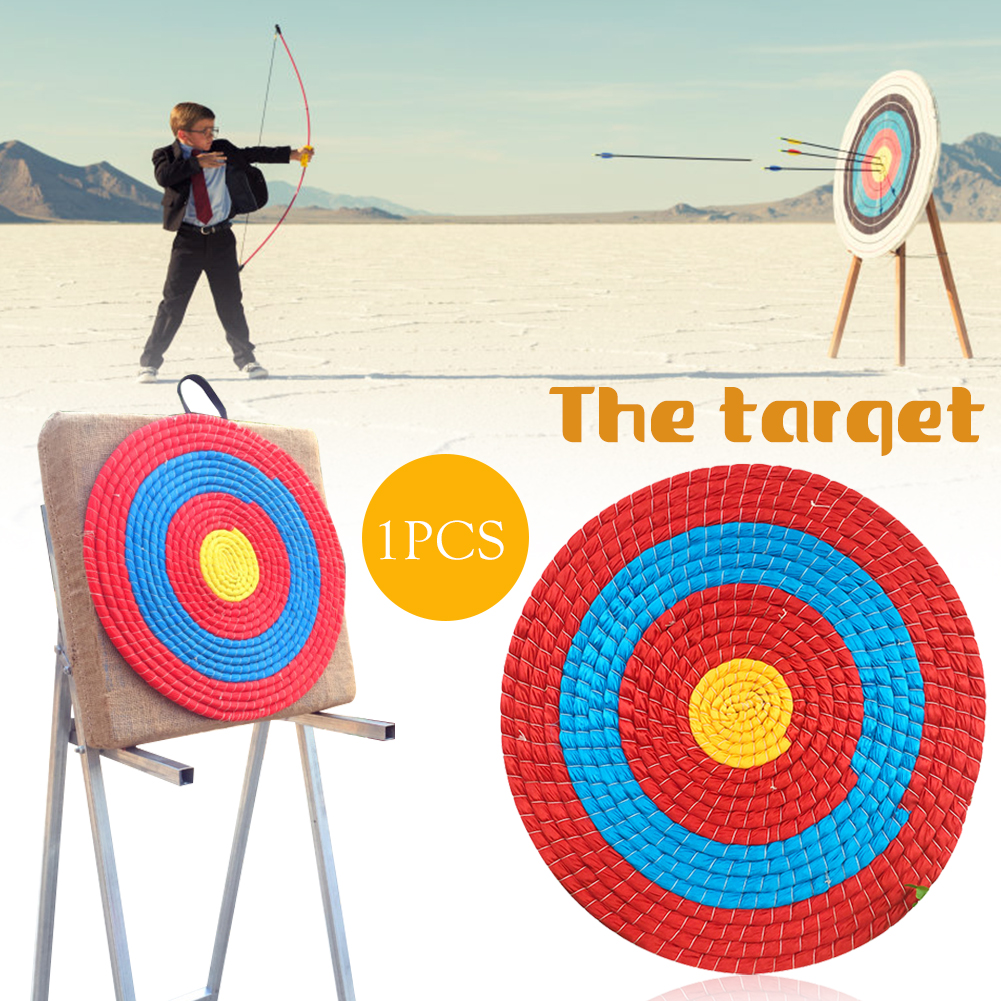 Outdoor Sports Archery 50x2cm Target Grass Target Board Shooting Bow Straw Arrow Darts Targets Props Bow Accessories