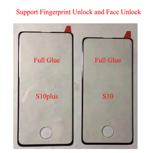 Image 5 - 10pcs Full Glue Screen Protector for Samsung S8 Plus 3D Curved Full Adhesive Tempered Glass Film for S9 Plus Note 8 9 10 S10
