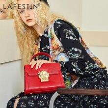 LA FESTIN – sac à main en croûte de cuir pour femmes, sacoche de styliste avec serrure Serpentine, sac à bandoulière de marque de luxe, 2020