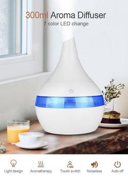 40 #300 Ml aromatyczny olejek eteryczny olejek eteryczny do nawilżacza dyfuzor ultradźwiękowy generator chłodnej mgiełki Fogger nawilżacz Led lampa tanie i dobre opinie CN (pochodzenie)