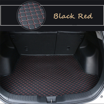 Flat Side Cargo Liner For Mazda Atenza mazda6 (2009-2020) 2010 2011 2012-2019 Special Car Trunk Mats Waterproof  Boot Carpets