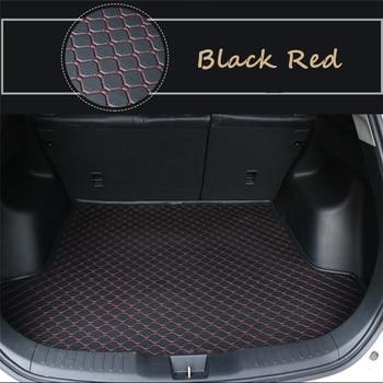 Flat Side Cargo Liner For Volkswagen Passat Hybrid (2011-2020) Custom Fit Car Trunk Mats Waterproof  Boot Carpets