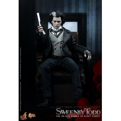 In Stock 1/6 Full Set Sweeney Todd Action Figure Model Johnny Depp Figure Doll For Fans Collection Toys Xmas Gift