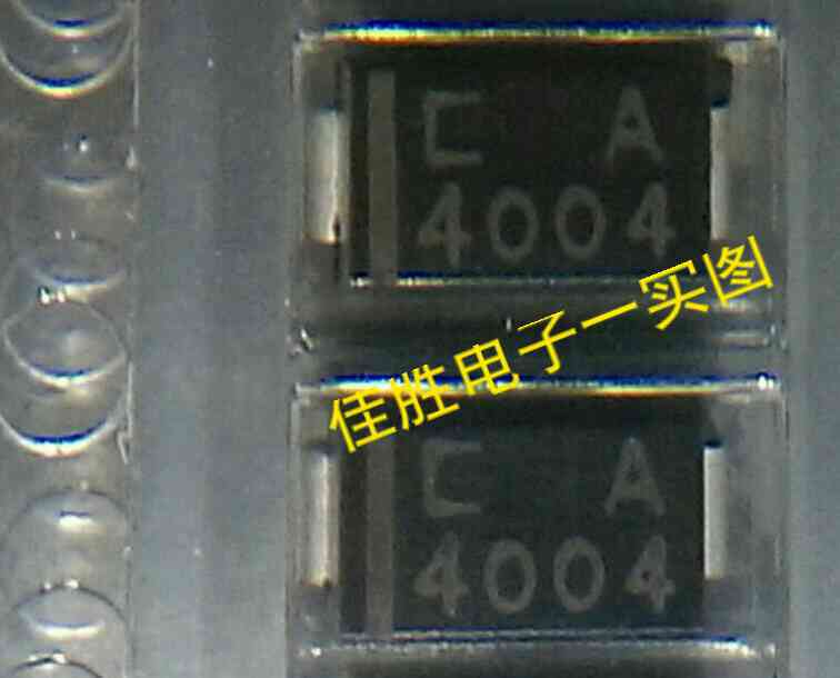 25pcs 100% New And Orginal 1N4004 1A400V DO214AC In Stock
