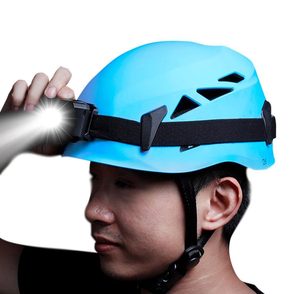 Casque de protection de tête extérieur descente Extension Cave sauvetage alpinisme en amont casque de sécurité chapeau équipement d'escalade