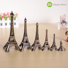 Bronze Tower Model Wedding Romance Metal Ornaments Figurines and Miniatures  Home Decoration Crafts Livingroom Bedroom цена