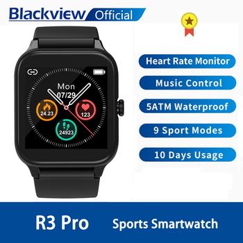 Blackview SmartWatch R3 Pro tętno mężczyźni kobiety sport zegarek zegar pomiar podczas snu ultra-długi Battrey dla IOS telefon z systemem Android tanie i dobre opinie CN (pochodzenie) Brak Na nadgarstek Zgodna ze wszystkimi 128 MB Krokomierz Rejestrator aktywności fizycznej Rejestrator snu
