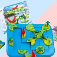 신비한 섬 3D 경로 빌딩 게임 보드 게임 재미 있은 줄기 집중 선사 시대 두뇌 게임 및 퍼즐 게임 6 세 이상