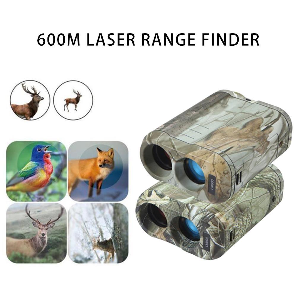 600m Laser Range Finder For Golf Yacht Measurement Tool LCD Fog Mode ABS Measurement And Analysis Instruments Laser Range Finder