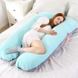 Мягкая флисовая Подушка для беременных, чехол для поясницы Gravida U типа, Многофункциональный защитный чехол для подушки для беременных женщи...