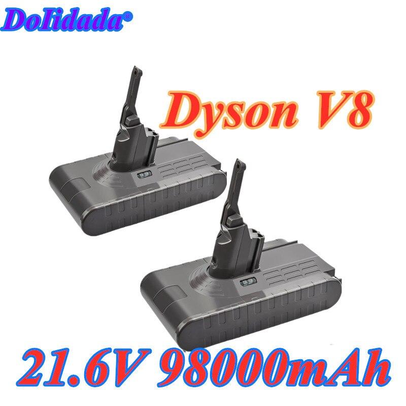 Аккумуляторная батарея для пылесоса Dyson V8, 2020 мАч, 98000 в