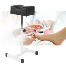 Adjustable Pedicure Nail Footrest Manicure Foot Rest Desk Salon Spa Equipment Foot Desk Nail Art Salon Spa Manicure Tool Supply