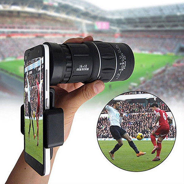 Monocular Waterproof High Definition Telescope Spotting Scope Phone Photography Adapter for Bird <font><b>Watching</b></font> Secenery YS-<font><b>BU</b></font> image