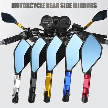 Universal-espejo lateral para Moto ATV todoterreno, 10mm y 8mm, para Benelli, Yamaha, Suzuki, Kawasaki, Honda, cb500x, cb650f, pcx, 125