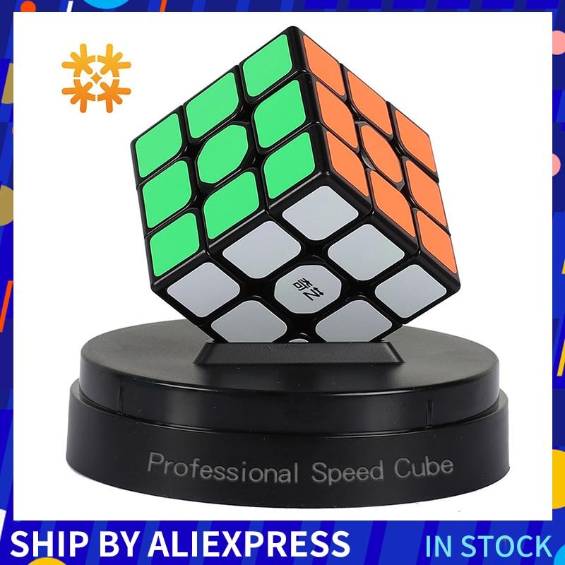 Qiyi 3*3*3 Professional Cube Magic Cube Speedcube Puzzles Magic Cubes Educational Cube Puzzle Toys For Children Toys For Adults